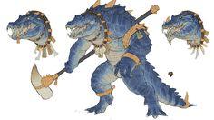 Image result for warhammer total war 2 kroxigor