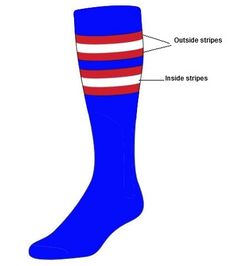 Custom  Knee High Socks -  Stripe Socks - Style I
