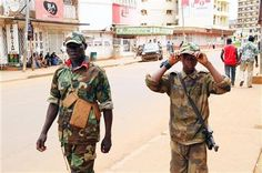 Child soldiers patrol C. African Republic capital