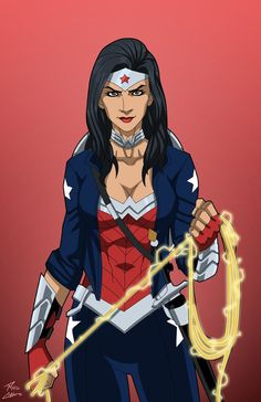 Wonder Woman (Earth-27) commission by phil-cho on DeviantArt