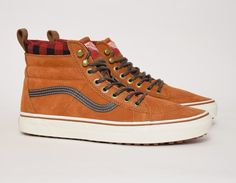 #Vans Sk8-Hi MTE Light Brown #sneakers
