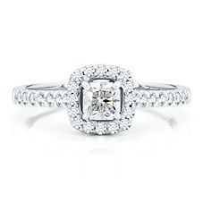 Diamond Masterpiece 5/8ct TW Engagement Ring in 18K Gold