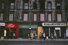Raymond Depardon 1980 Glasgow