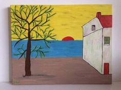 "Saatchi Art Artist Grace Douglas; Painting, ""Sunset"" #art"