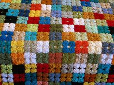 Items similar to Handmade Yo Yo Quilt / Single bed size on Etsy Quilting Projects, Quilting Designs, Sewing Projects, Yarn Crafts, Fabric Crafts, Quilt Patterns, Crochet Patterns, Yo Yo Quilt, Sampler Quilts