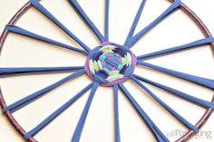 Hula hoop rug step 8