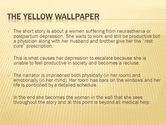 5 The Yellow Wallpaper
