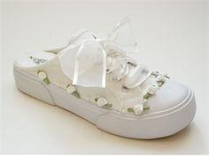 Custom Color Savvy Sneaks Wedding Sneakers