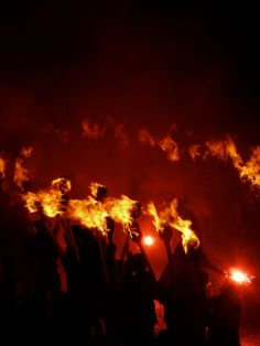 Up Helly Aa It's Europe's largest fire festival