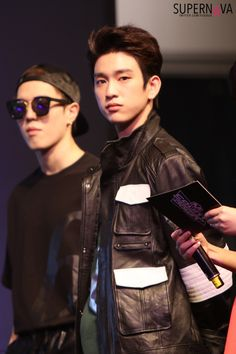 Jinyoungie <3 (With Yugyeomie again! XD Always gettin' featured)