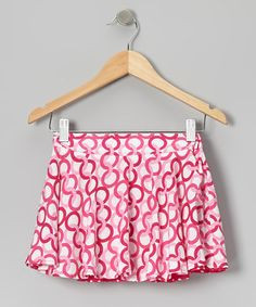 Take a look at this Pink Fandango Reversible Skirt -Toddler &  Girls by Sierra & CoCo on #zulily today!