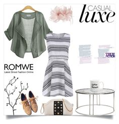 """casual time"" by romwe ❤ liked on Polyvore featuring Untold"