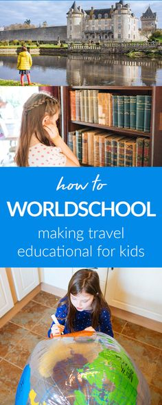 Learn how we turn travel moments into teaching moments as we worldschool around the world. These six ideas will help you to get started worldschooling.