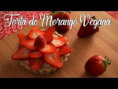 Torta de Morango Vegana | Vita Nutrire | Culinária Vegana