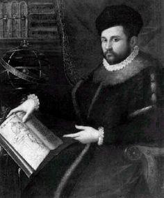 """Juan Valverde de Amusco (1525 Amusco, Palencia🇪🇸1564 Roma). El gran anatomista español del s. XVI. Seguidor de Vesalio, copió y amplió sus dibujos y los divulgó en el mejor Tratado anatómico renacentista """"Historia de la composición del cuerpo humano"""" impreso en Roma 1556. Donde se representa por primera vez el hueso estribo descrito por el valenciano Luis Collado (1555). Fue discípulo de Colombo y Eustaquio. Junto a Colombo rescataron la obra de Miguel Servet para que no se perdiera"""