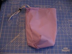sew your own cloth diaper pail wet bag