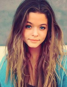 Sasha Pieterse as Alison... Uh, shes so pretty (no homo)