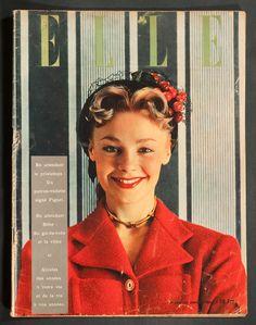 'ELLE' FRENCH VINTAGE MAGAZINE 22 JANUARY 1951 | eBay