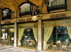 Cafe Quadri Venise - across the square from Florian's