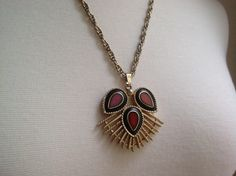 Vintage bohemian necklace by PureJoyVintage on Etsy