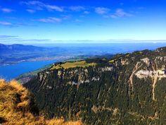 Panoramawanderung Niederhorn überhalb des Thunersees - Einfach mal entdecken, erleben und zufrieden sein Visit Switzerland, Media Images, Free Stock Photos, Free Images, Grand Canyon, Mountains, Landscape, Nature, Travel