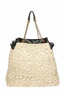 Outstanding Crochet: Crocheted purses D&G.