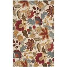 @Overstock - Bring a touch of the garden into your home with the blossoms collection. An intricate floral design with updated fresh colors and dense, thick wool pile highlight this handmade rug.http://www.overstock.com/Home-Garden/Handmade-Blossom-Ivory-Wool-Rug-3-x-5/6030260/product.html?CID=214117 $73.99