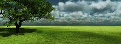 Couverture facebook paysage + fond d'écran HD