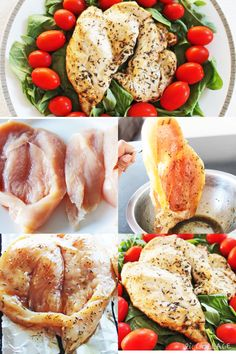 Clean eating recipe: Herb-rubbed broiled chicken #cleaneating #healthyeating #healthyrecipe