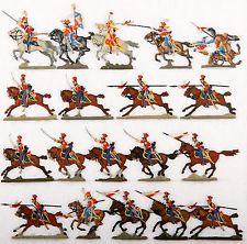 (01098) France pour 1813, Chevaulegers-lanciers, 2. régiment