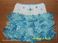 Closet Birthday Crochet Yarn Skirt Arishka photo 1