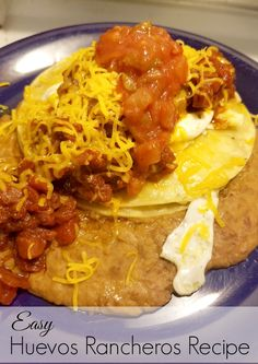 We are your destination for delicious healthy recipes, kids nourishment, trending fashion wear and lifestyle products. Best Mexican Recipes, Huevos Rancheros, Some Recipe, Homemaking, Easy Diy, Healthy Recipes, Breakfast, Dinners, Crafts