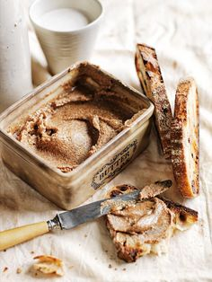 spiced almond butter.