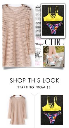 """""""Rosegal  16"""" by mell-2405 ❤ liked on Polyvore"""