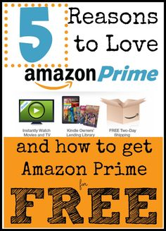 5 reasons why you need an Amazon Prime account (it's perfect for the holiday season!)....and how to get Amazon Prime for FREE (everyone's favorite price) Amazon Prime Membership, Mo Money, Financial Tips, 30 Day, Money Saving Tips, Accounting, Budgeting, Frugal Living, Fun Ideas