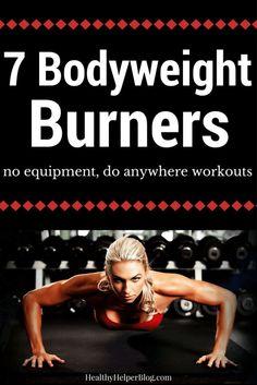 7 Bodyweight Burners