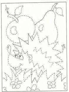 Motor Activities, Preschool Activities, Preschool Writing, Drawing For Kids, Math, Drawings, Fine Motor, Home Decor, Fruit