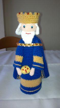 Rey Melchor a crochet
