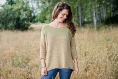 Comfy yet sophisticated, Pasture is a lightweight, oversized pullover designed with straight forward knitting, and straight forward wearing in mind. Fingering weight yarn