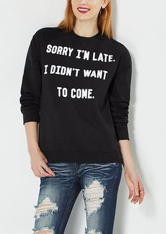 15 Sweatshirts that Accurately Display How You Feel About Finals | Her Campus