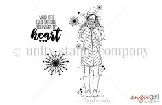 Winter Girl | Unity Stamp Co