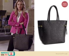 Ali's white studded cutout top and pink blazer on Pretty Little Liars.  Outfit Details: http://wornontv.net/35907/ #PLL