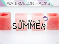 3 Things You Should Be Making With Watermelon : Try these amazing watermelon ideas to make the most out of everyone's favorite summer fruit.