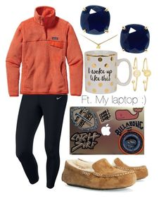 Crazy tag👽 by emmacaseyyyy on Polyvore featuring Patagonia, NIKE, UGG Australia, Kate Spade, Sarah Chloe and Dogeared