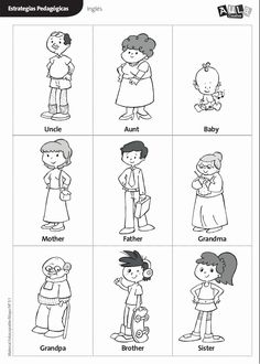 We have a bunch of family themed worksheets that will help kids learn and think about different family members. We have a family tree worksheet, house and . Preschool Family, Preschool Activities, Family Activities, Family Theme, Family Events, Free Printable Worksheets, Kindergarten Worksheets, Ingles Kids, Family Tree Worksheet