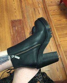 The Magdalena heeled boot, shared by neenacorn.