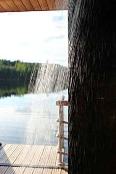 Finnish sauna and summer