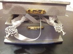 Silver Purification Tree of Life Wedding Hand Fasting/ Binding Cord with Matching Keepsake Box on Etsy, $39.99