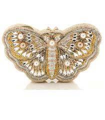Judith Leiber Farfallina Butterfly Minaudière