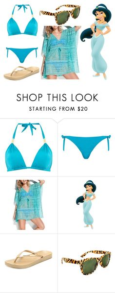 """Jasmine - Day at the Beach"" by dutchveertje ❤ liked on Polyvore featuring Biba, Phax, WALL, IPANEMA and SWG"